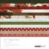 "Kaisercraft 6½"" Paper Pad - Letters to Santa - PP1028"